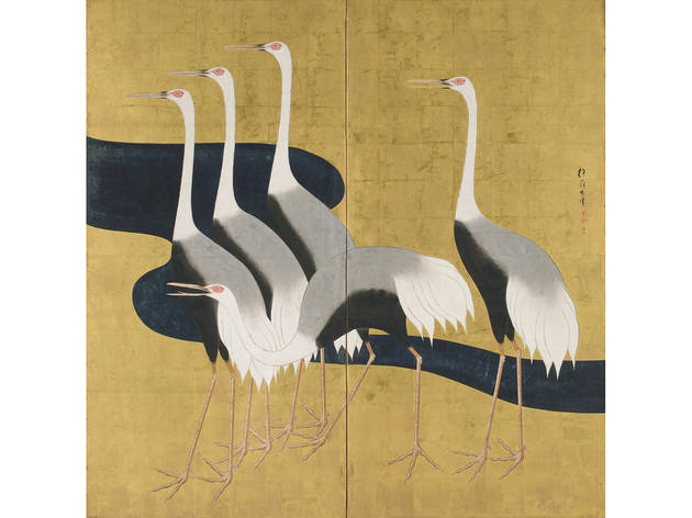 """Silver Wind: The Art of Sakai Hoitsu"" at Japan Society"