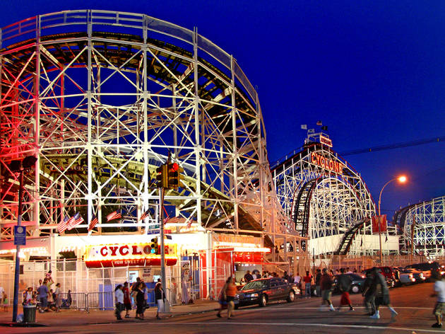 The Cyclone at Luna Park