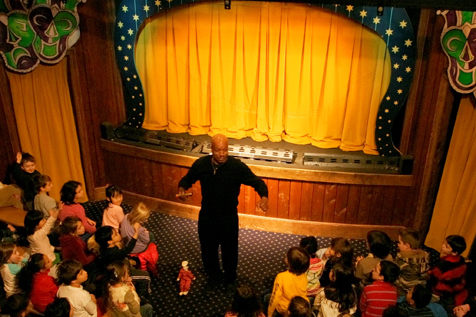 Central Park's Swedish Cottage Marionette Theater