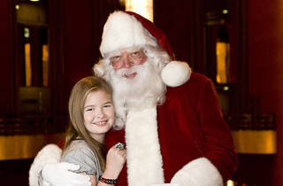 Photos with Santa at the Queens Center Mall