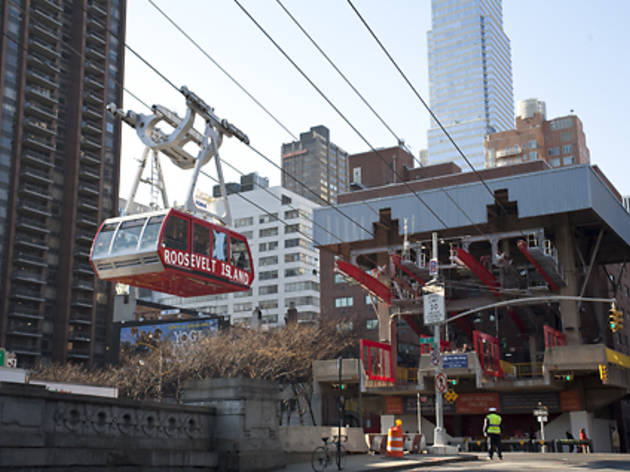 Hop on the tram to Roosevelt Island