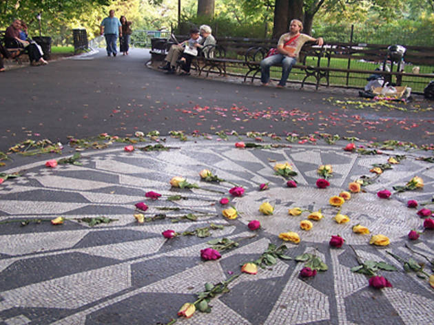 Central Park, Strawberry Fields