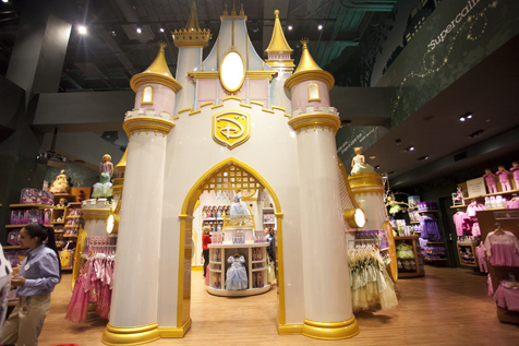 Disney Store in Times Square NYC