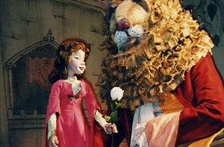 Beauty and the Beast at Puppetworks