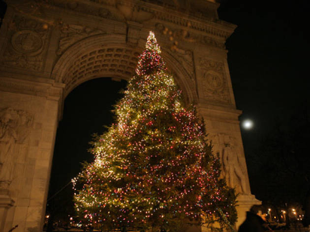 Washington Square Park Tree Lighting