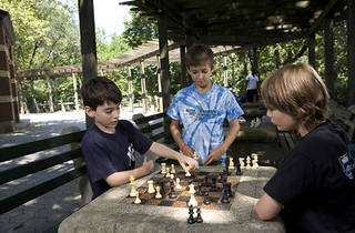 Chess Clinic in Central Park