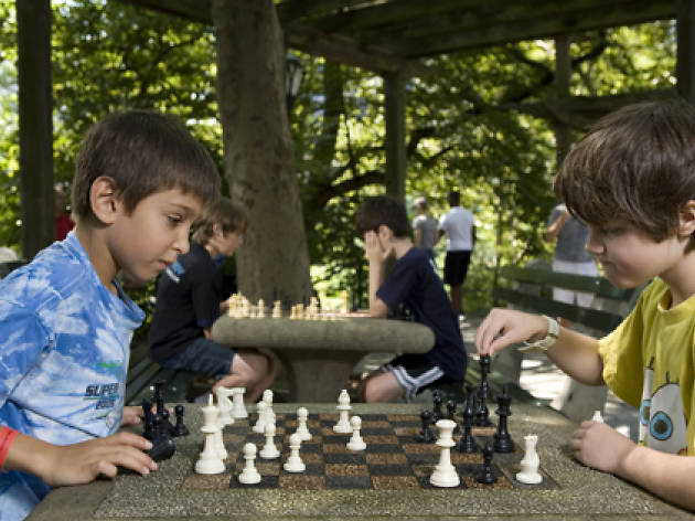 Central Park chess