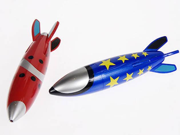 Multicolor Rocket Pens
