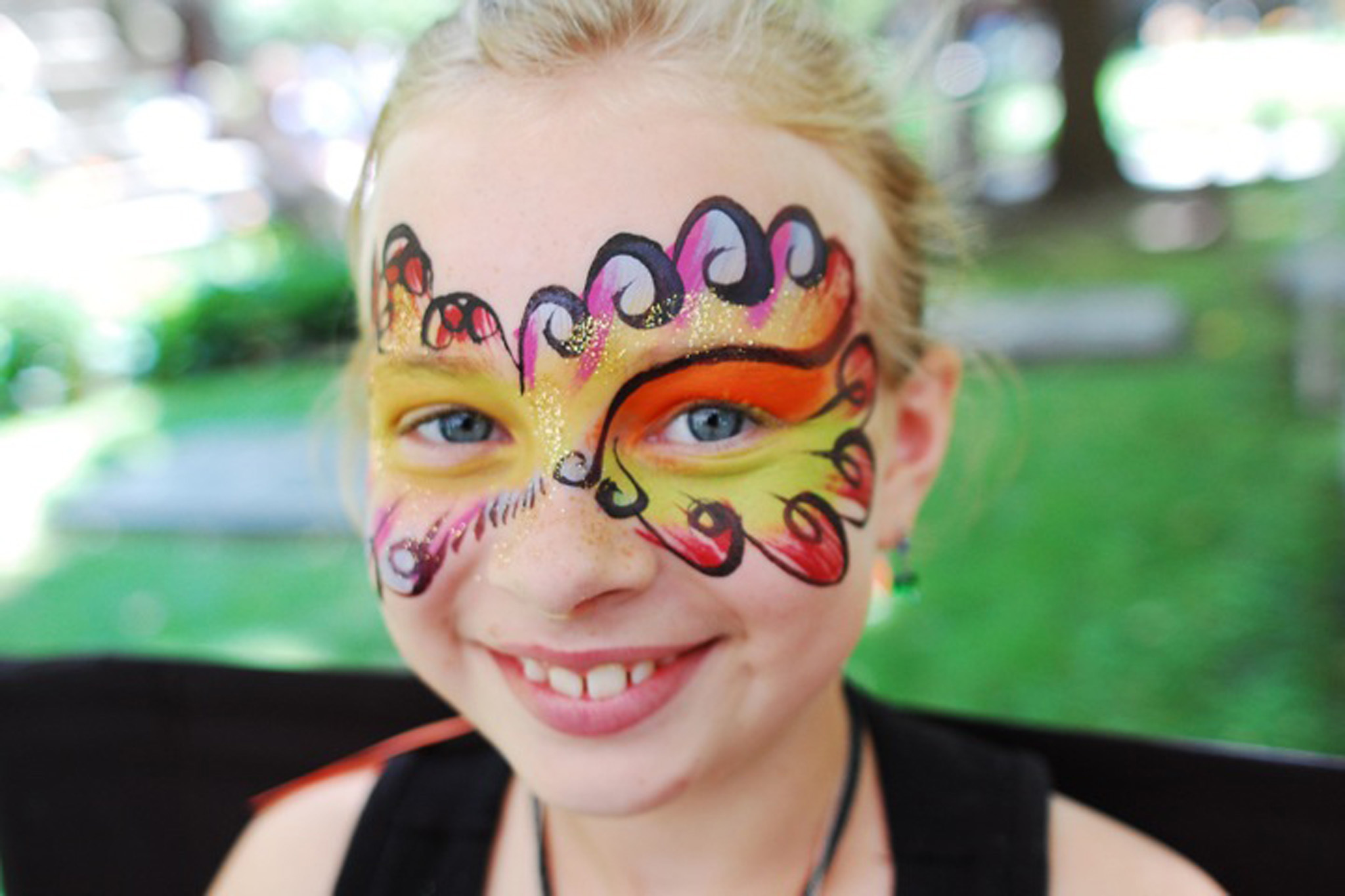 Face painters in New York City