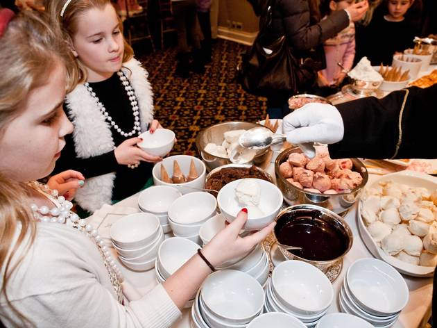 Sip a spot of tea at the Plaza