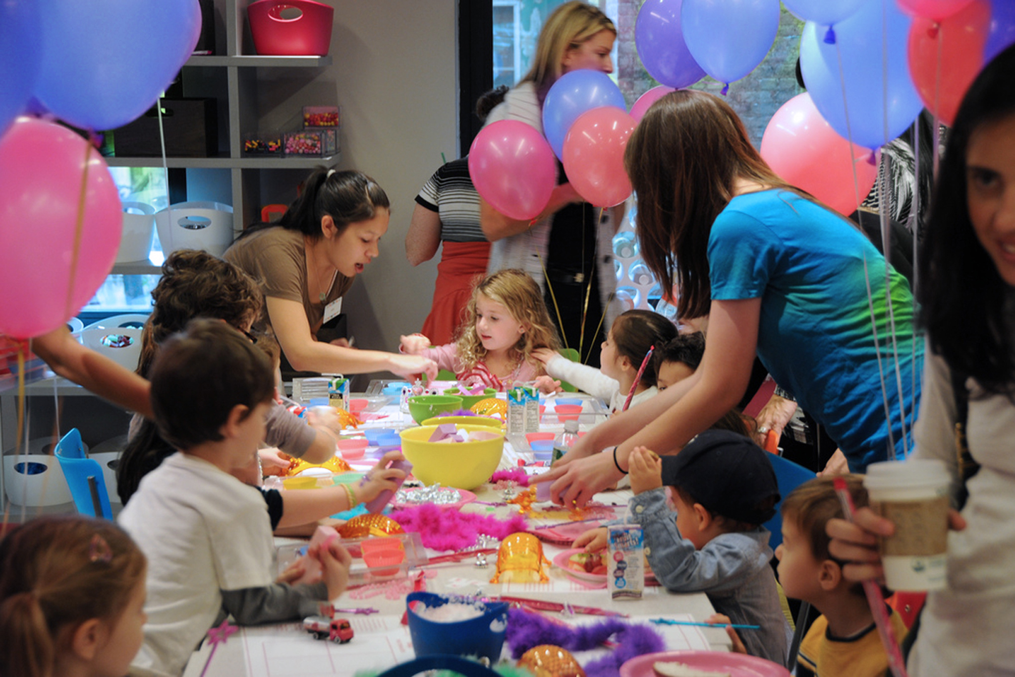 Make Meaning Birthday Parties, UES