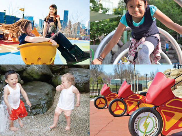 25 best playgrounds in New York City (2015)