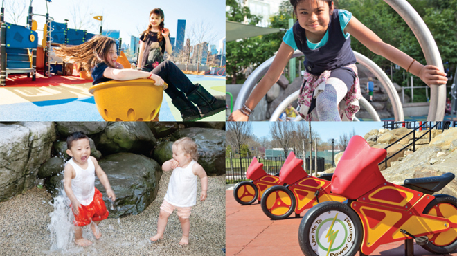 The 25 best playgrounds in New York City