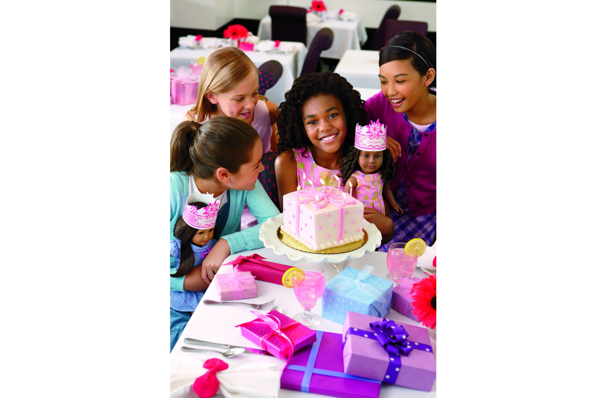 American Girl Place New York Dolls for girls café and toy store