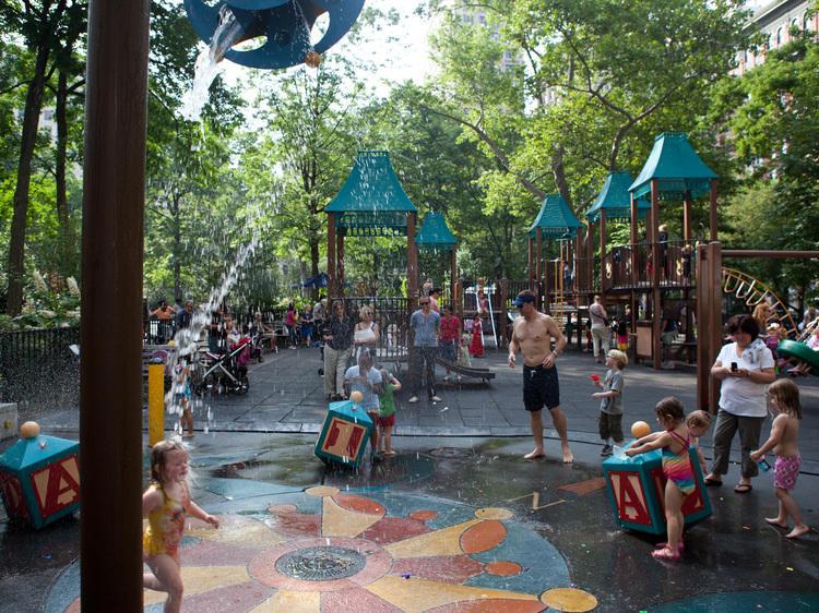 Moira Ann Smith Playground, Madison Square Park