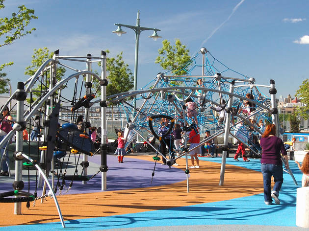 Hudson River Park Pier 25 Playground
