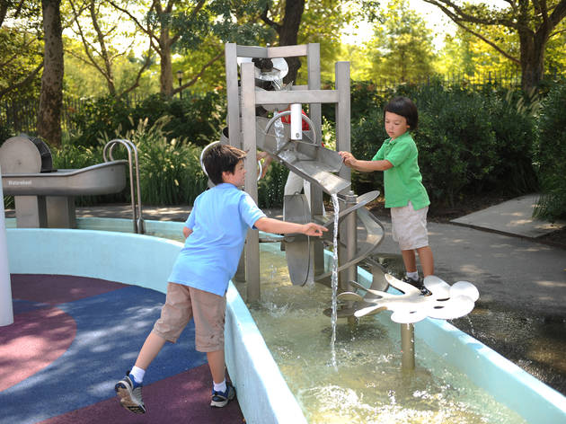 Revel in springtime at the interactive Science Playground