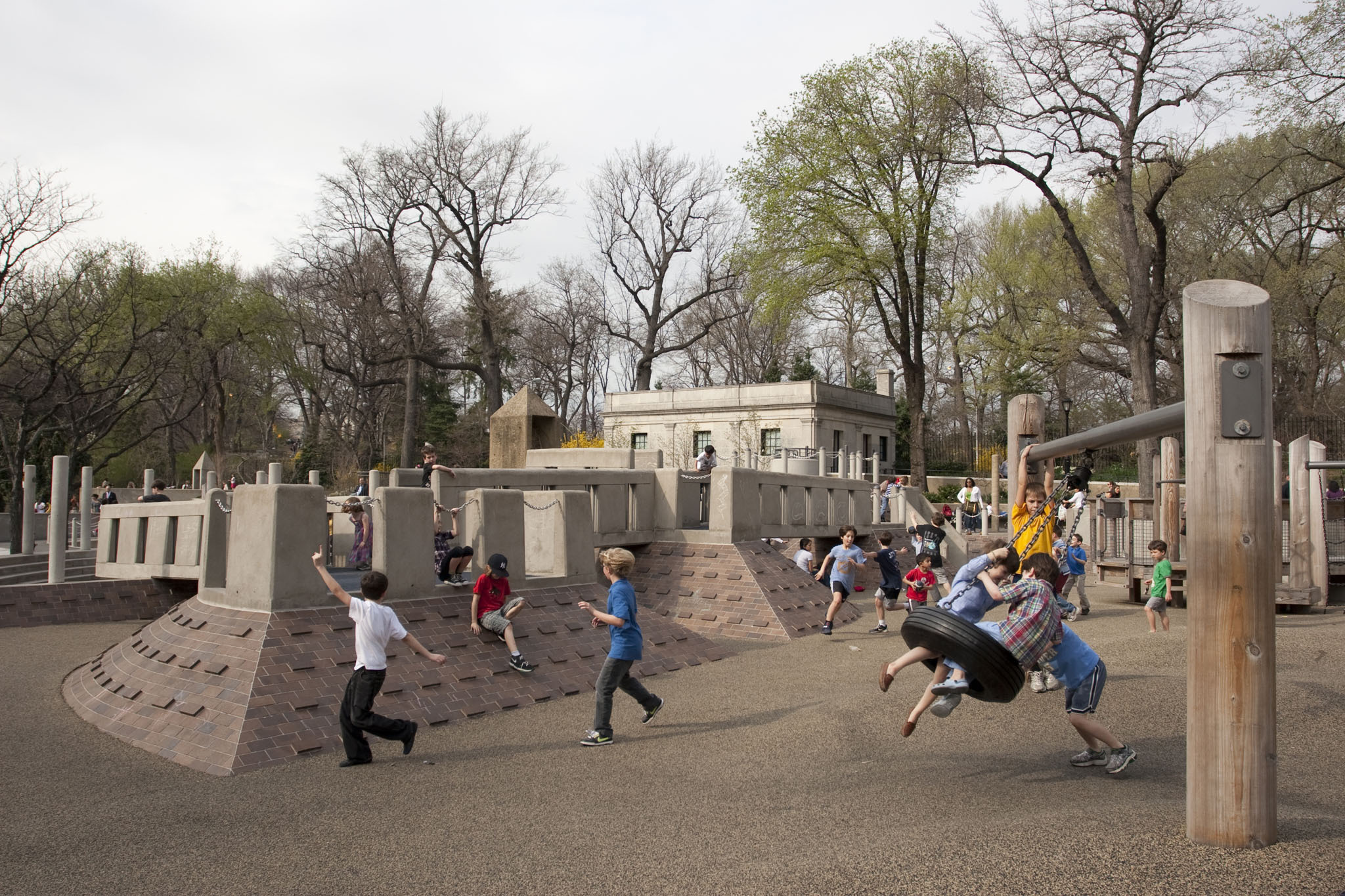 Walk like an Egyptian at the Ancient Playground