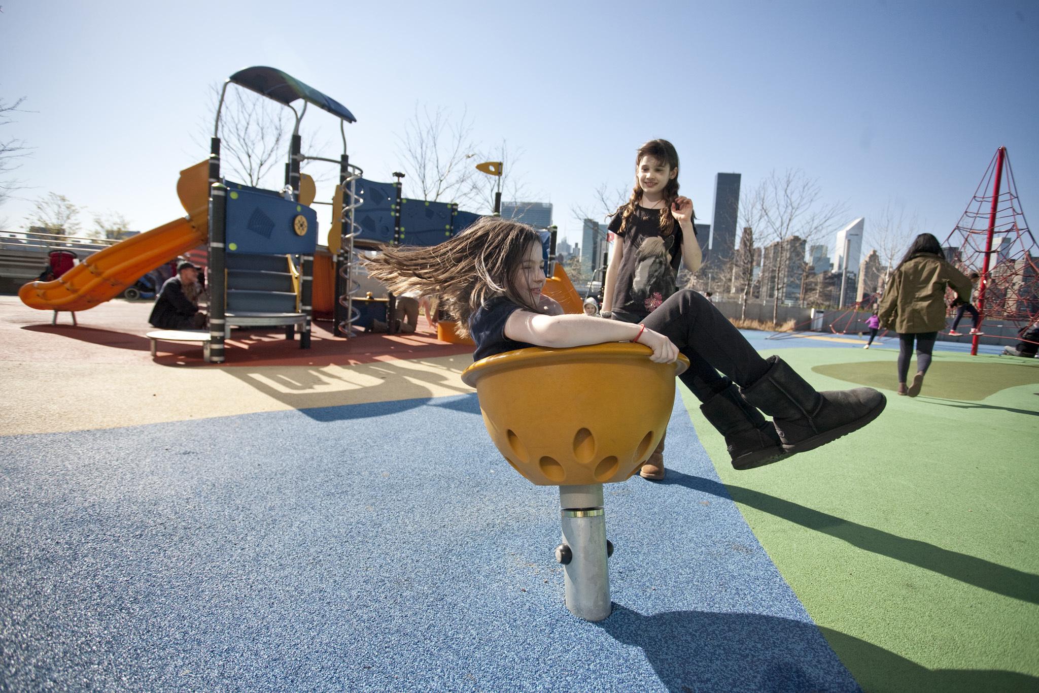 Gantry Plaza State Park Playground