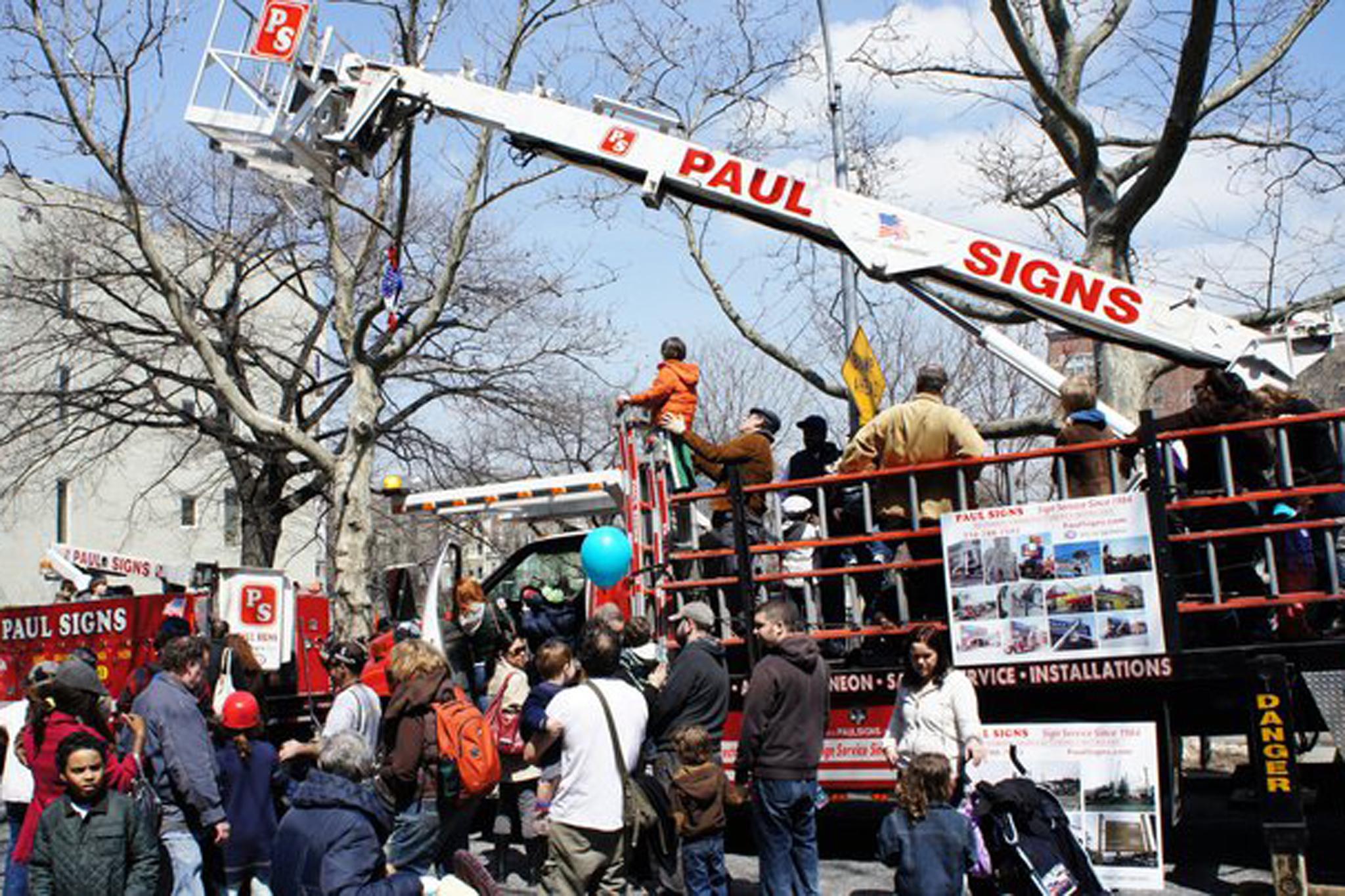 Touch-a-Truck Street Fair