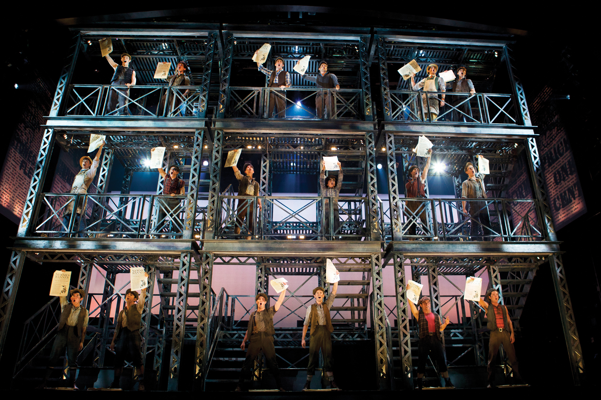 Five reasons to see Newsies on Broadway