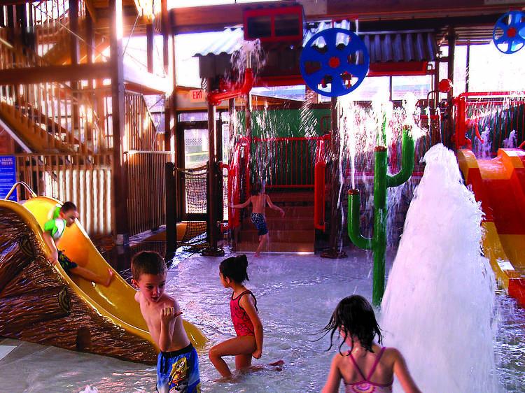 Big Splash Indoor Waterpark at Rocking Horse Ranch Resort