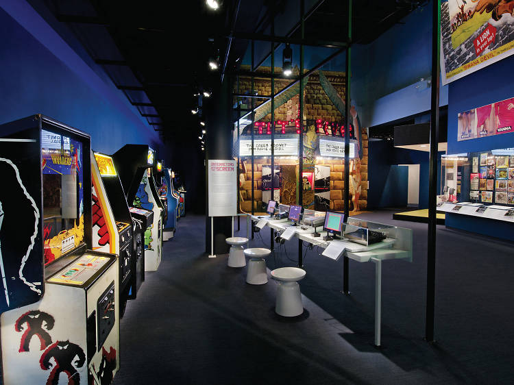 """Museum of the Moving Image, """"Behind the Screen"""""""