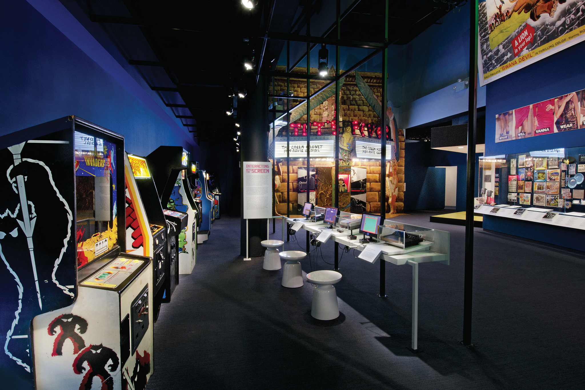 "Museum of the Moving Image, ""Behind the Screen"""