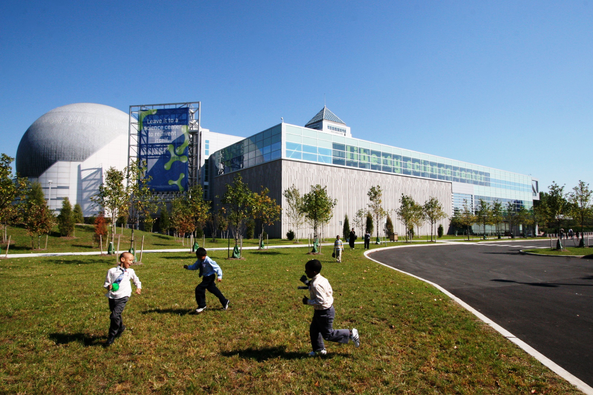 Hop across the Hudson to the Liberty Science Center