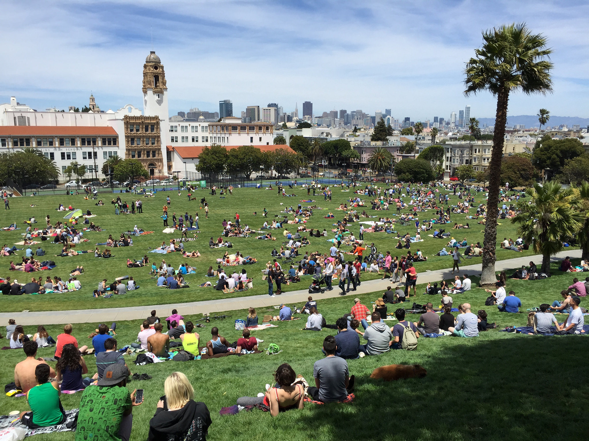 The 10 best Instagram photos from Dolores Park's re-opening weekend