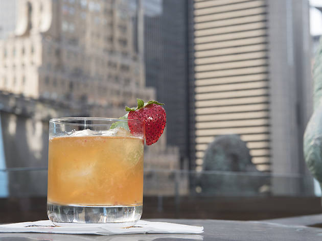 The Aqueduct ​- Images 26-40 (Bourbon, Licor 43, Strawberries, Basil)
