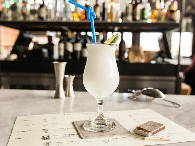 Blended Gin & Tonic at The Promontory, $10