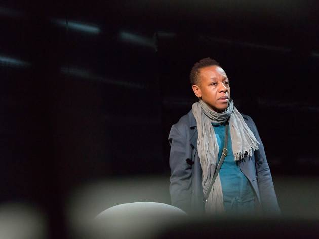 15 London theatre shows we loved the most in 2015: ROYALMarianne Jean-Baptiste in 'Hang' COURT: JERWOOD DOWNSTAIRS - HANG BY DEBBIE TUCKER GREEN, J