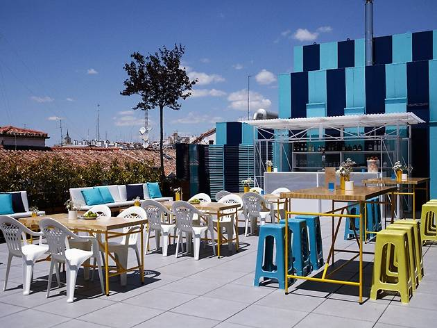 23 top terraces in madrid for La casa encendida