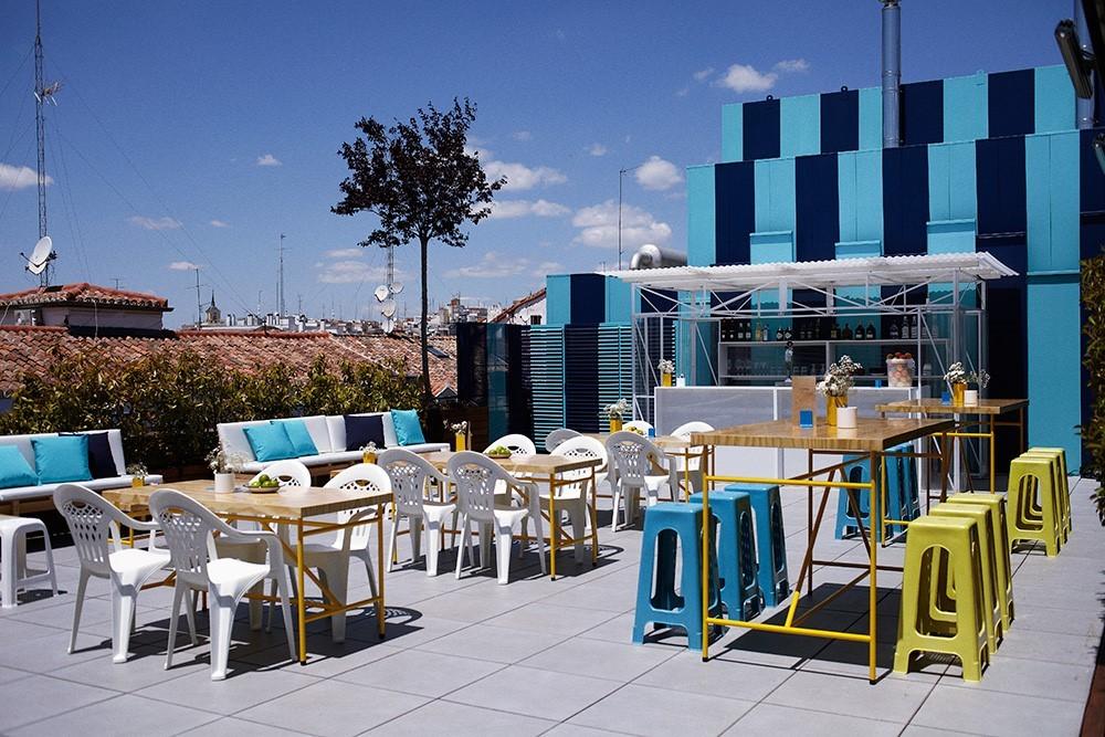 20 terrazas a ras de cielo en madrid for Cine las terrazas