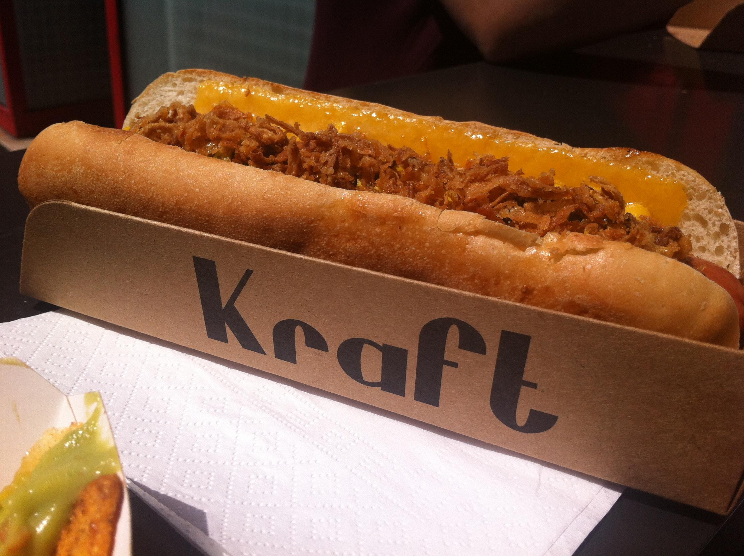 Kraft hot-dog