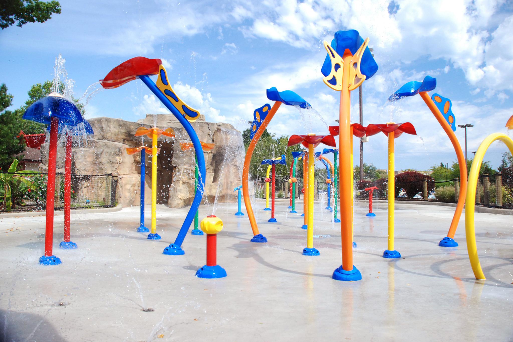 Skokie Water Playground
