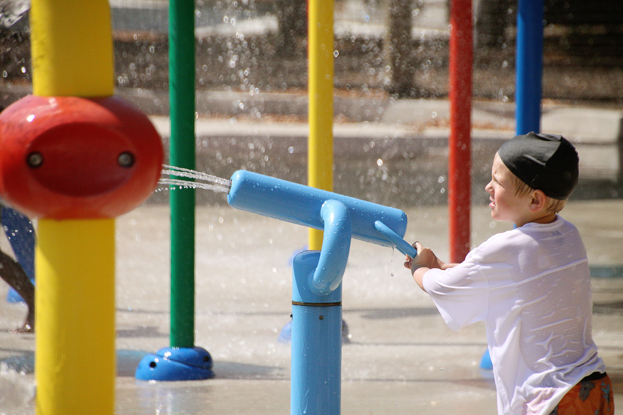 The best playgrounds for water features