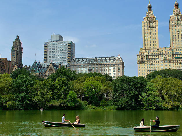 Check out these wonderful photos of Central Park in summer