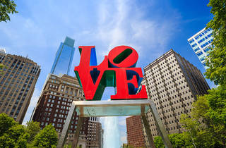 Love Park (Photograph: Shutterstock/f11photo)