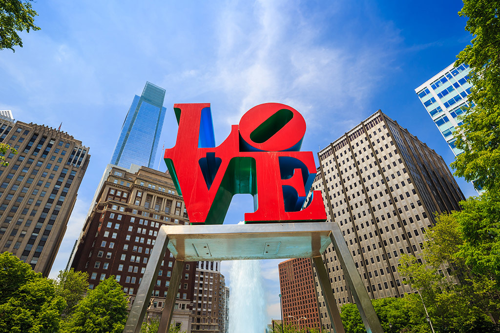 Hang out in Philly's heart