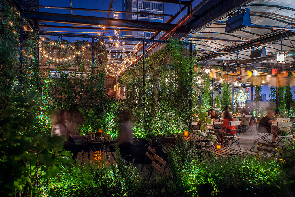 Best rooftop gardens and rooftop farms in NYC