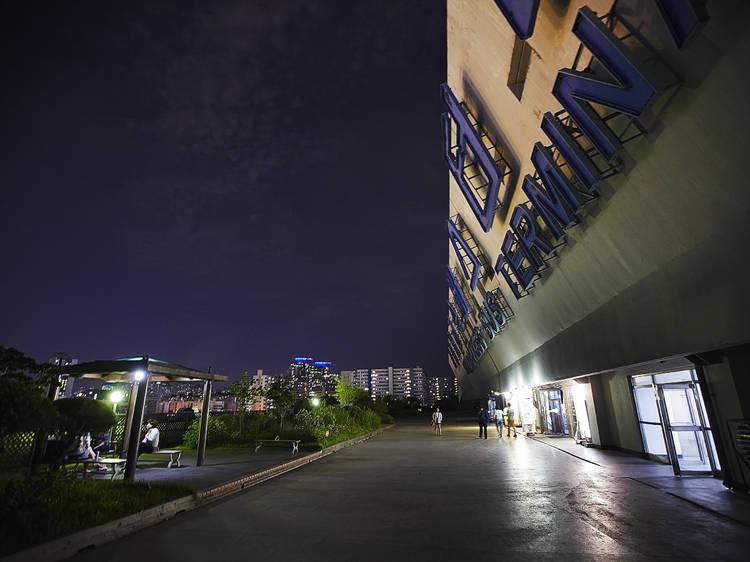 고속버스터미널 10층 옥탑