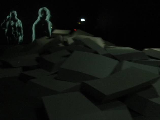 (Vue de l'installation de Céleste Boursier-Mougenot au Palais de Tokyo  / © TB / Time Out)