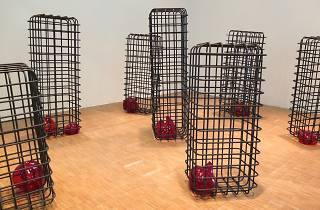 (Vue de l'exposition de Mona Hatoum au Centre Pompidou / Photo : © TB / Time Out)
