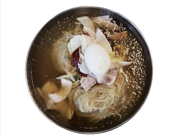 'Wheat noodles' at Gangnam Milmyeon