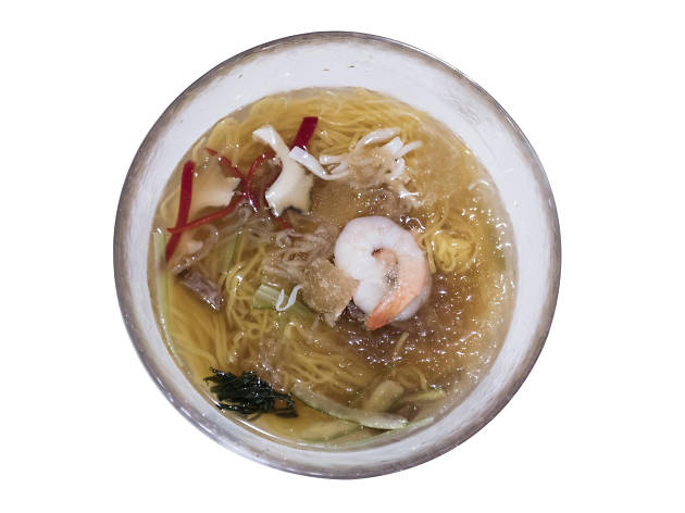 'Chinese seafood cold noodles' at Yeongyeong