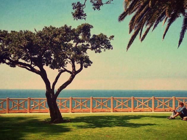 Palisades Park in Santa Monica
