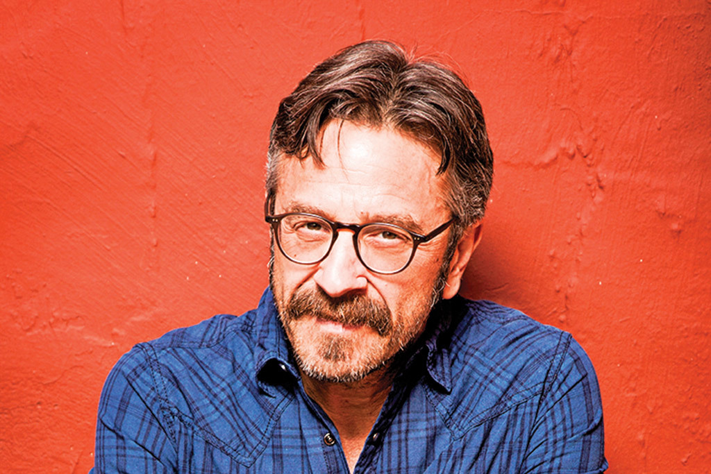 Marc Maron talks feral cats and returning to NYC