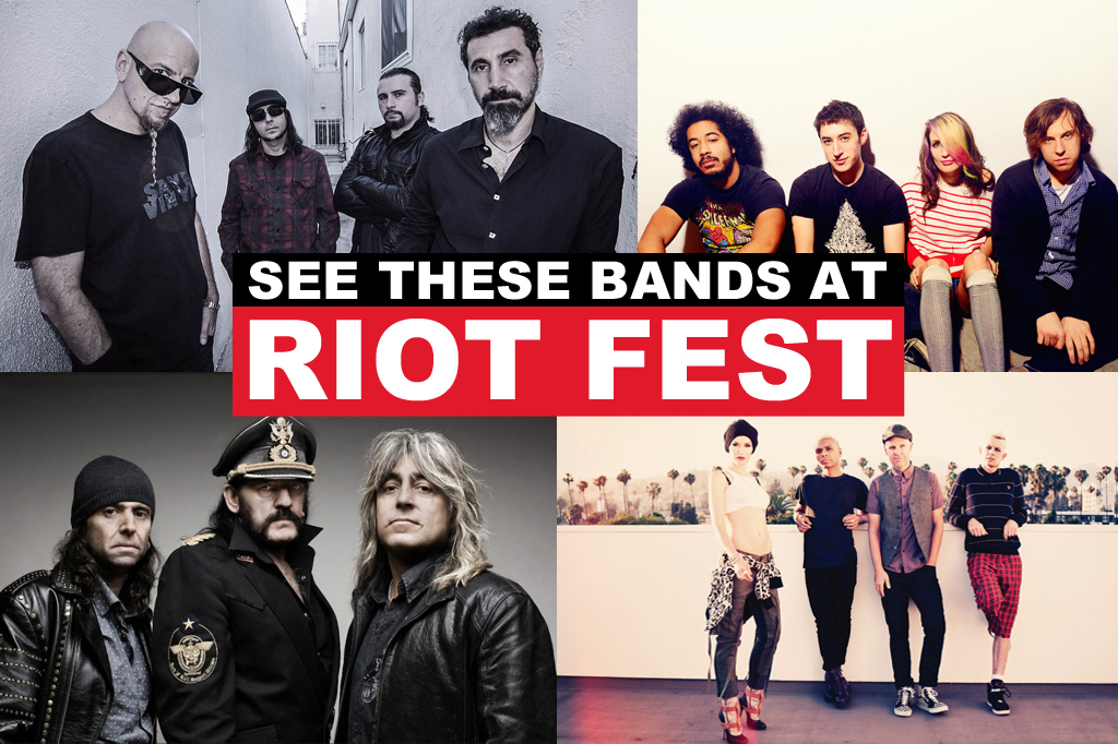 13 must-see acts at Riot Fest 2015